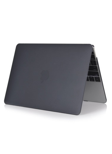 "Mcstorey MacBook Air A1369/A1466 13"" 13.3"" Kılıf Kapak Koruyucu Ruberized  Hard Incase Mat Siyah"